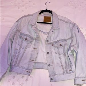 Levis Light Wash Denim Jacket